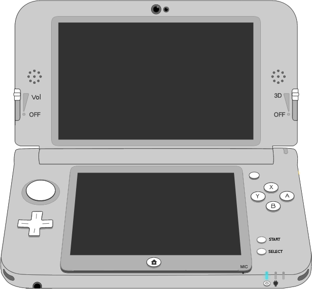 Picture of the Nintendo 3DSXL (New) controller