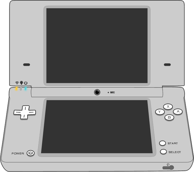 Picture of the Nintendo DS Lite controller