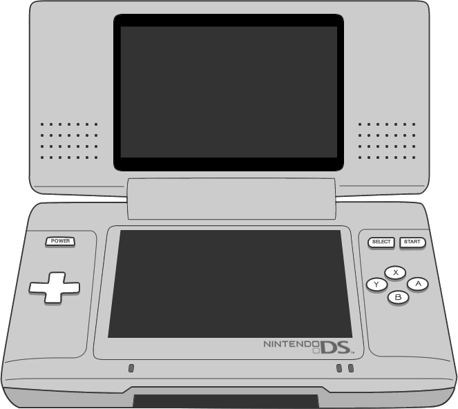 Picture of the Nintendo DS controller