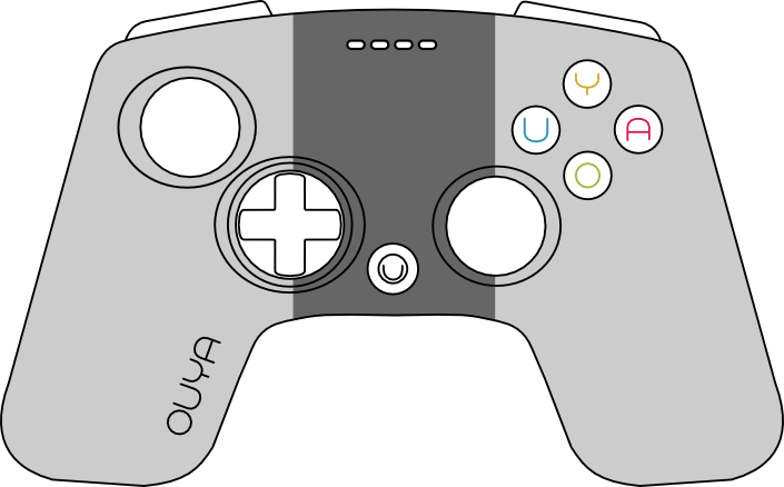 Picture of the OUYA controller