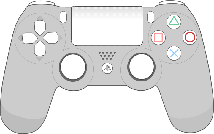 Picture of the Sony PS4 controller